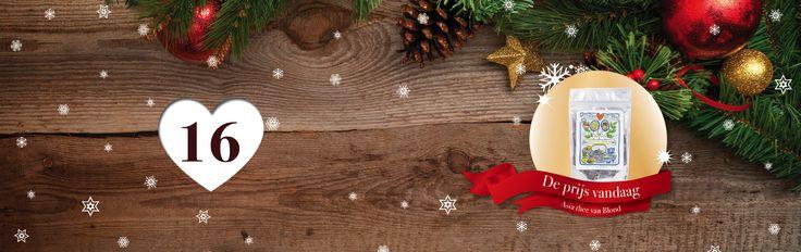 🎄🎁✨ Tel af naar #Kerst met de adventskalender vol #prijzen van SpaDreams!     Het zestiende vakje van onze Wellness - #Adventskalenderactie bevat het volgende cadeautje: overheerlijke '' Thee van Blond '' 👌  Verse thee drinken en je in oosterse sferen wanen!  Wil jij deze fantastische prijs winnen? Het enige wat je hoeft te doen is SpaDreams kerstkoekjes zoeken! 🍪 🎄    Bekijk vandaag de pagina: www.spadreams.nl/gezond-gewicht-en-vasten/detox-kuur/ en tel de koekjes,   ga dan naar de…