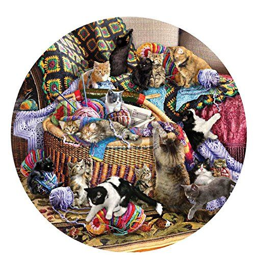 The Knitting Circle a 1000-Piece Jigsaw Puzzle