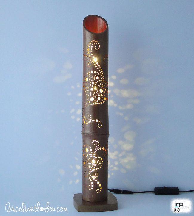 les 14 meilleures images du tableau lampes d 39 ambiance en bambou sur pinterest lampes ambiance. Black Bedroom Furniture Sets. Home Design Ideas