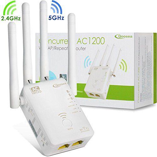 Répéteur Wi-Fi, Qoosea Répéteur avec Routeur Dual Band Amplificateur WLAN Extender Ultra-rapide Amplifie Wifi pour Téléphone Mobile/Ordinateurs (Blanc) (Répéteur Wifi) #Répéteur #Qoosea #avec #Routeur #Dual #Band #Amplificateur #WLAN #Extender #Ultra #rapide #Amplifie #Wifi #pour #Téléphone #Mobile/Ordinateurs #(Blanc) #(Répéteur #Wifi)