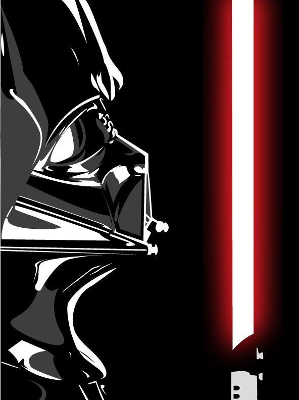 Darth Vader Vector by demonMONKEY93.deviantart.com on @deviantART