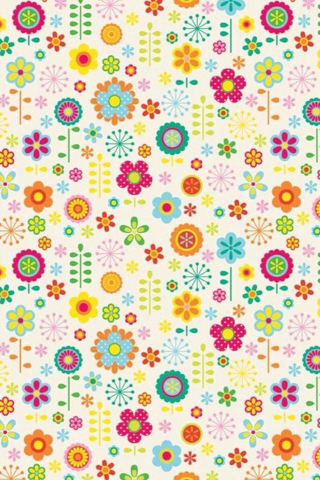 Pretty Flowers Pattern.