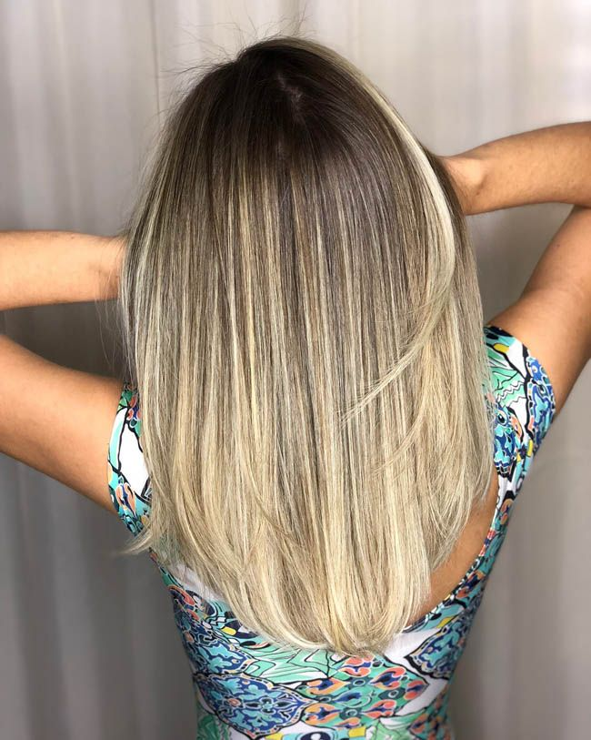 Уроки техники мелирования волос
