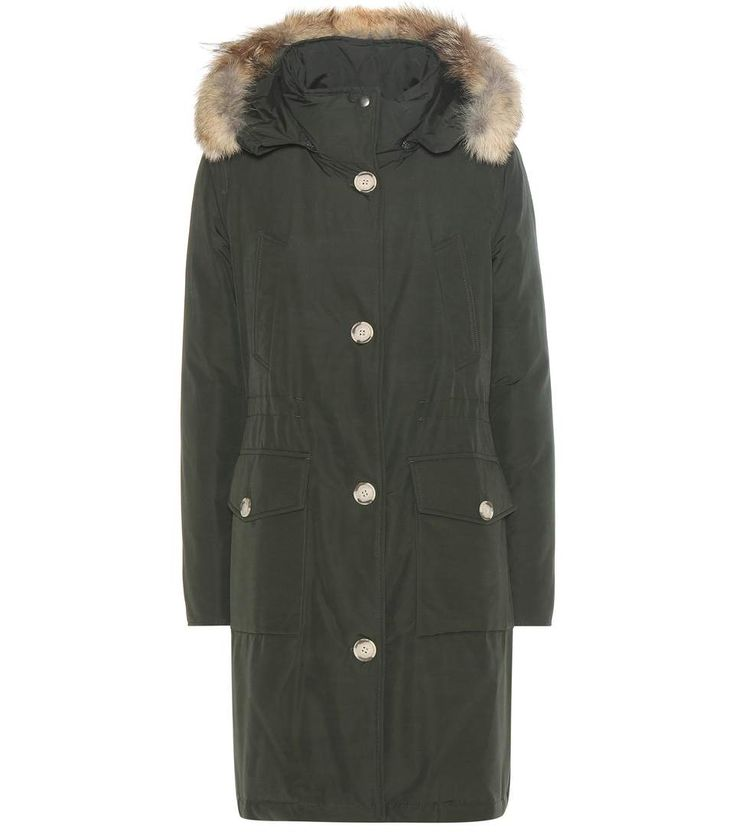 mytheresa.com - Long Arctic Parka fur-trimmed down jacket - Luxury Fashion for Women / Designer clothing, shoes, bags