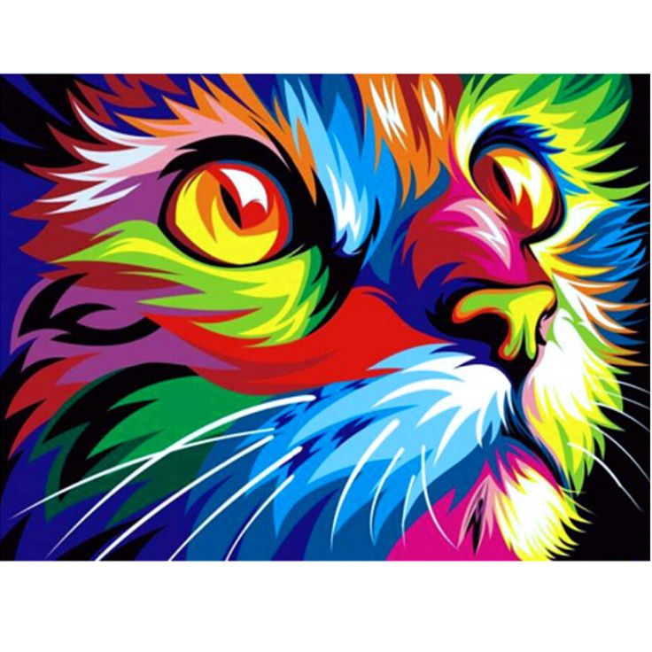 DIY 5D Diamond Mosaic Cartoon Cats Handmade Diamond Painting Cross Stitch Kits Diamond Embroidery Patterns Rhinestones Arts B5