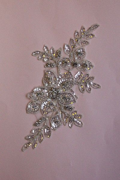 sequin embellishments | Dress Embellishment with Beading, sequins and Diamantes - for the ...