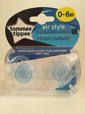 Tommee Tippee Closer to Nature Air Style Soother 0-6mth (2)