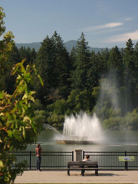 Stanley park - Lost Lagoon - Vancouver Canada