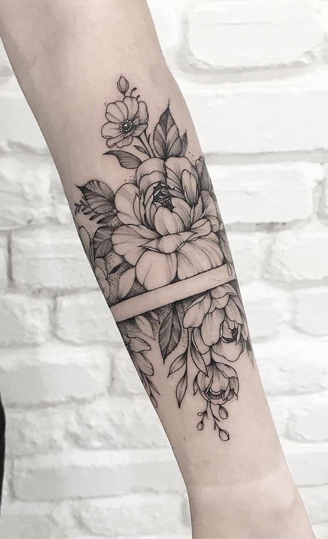 Tatuagem Feminina Delicada Rosa No Braçodelicada Braco