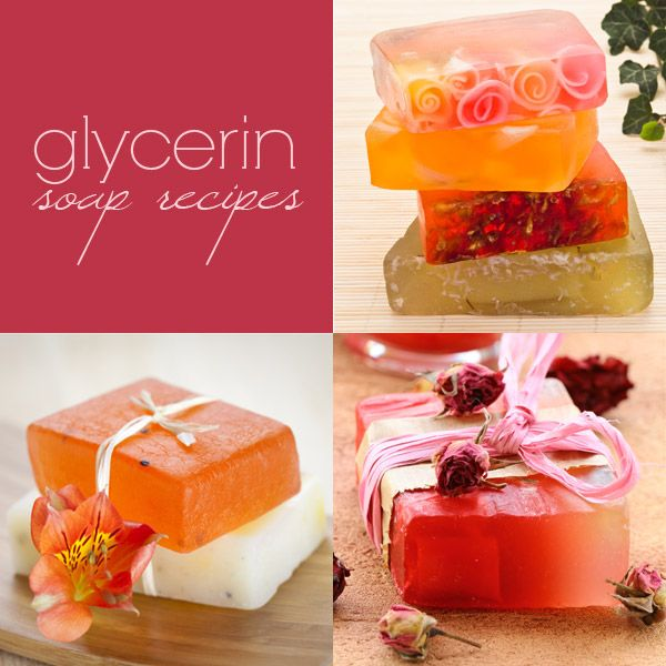 Glycerin Soaps Recipes (MP) http://www.soaprecipes101.com/homemade-soap-recipes/glycerin-soap-recipe/