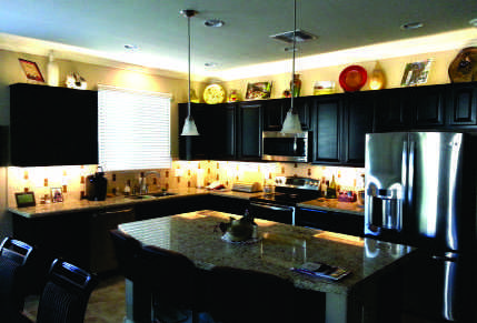 Led under cabinet lighting for kitchen and bath cabinets in phoenix