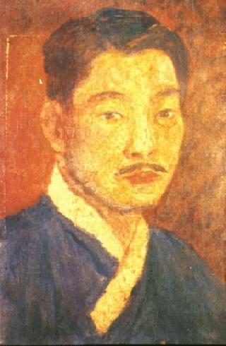 고희동(1885~1965)     우리나라 최초의 남자 서양화가..