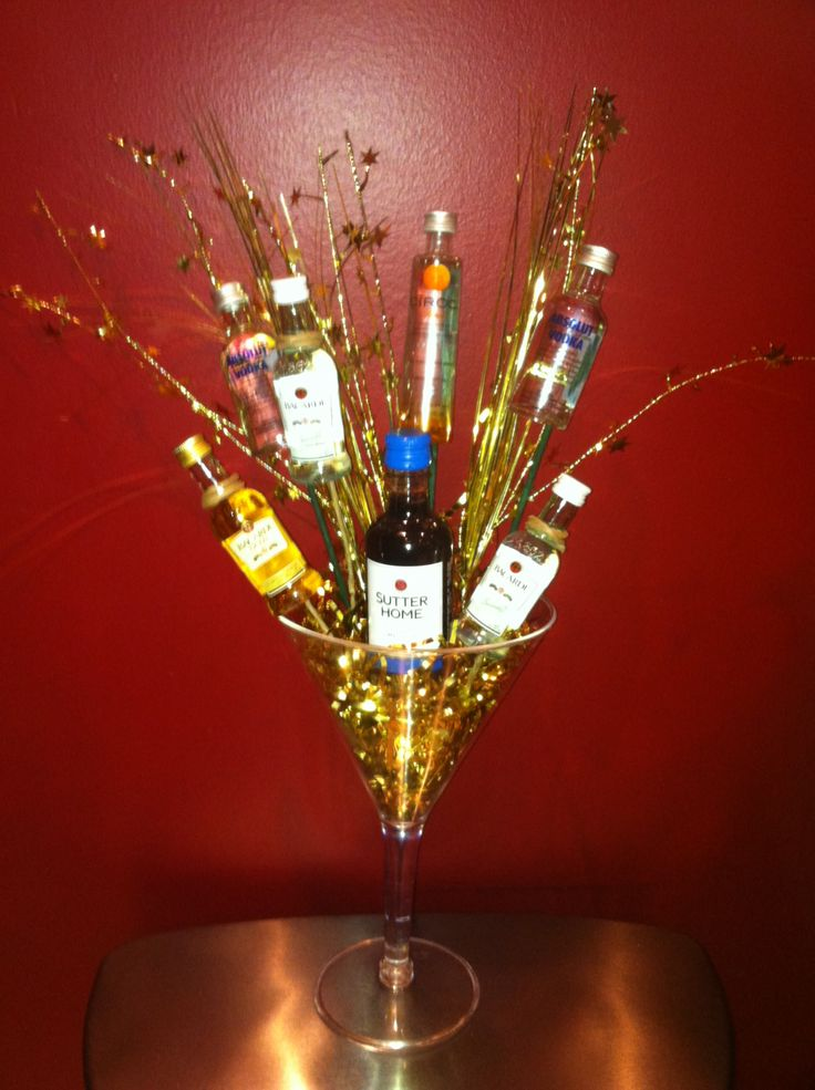 Liquor Bouquet Random Pinterest Liquor Bouquet