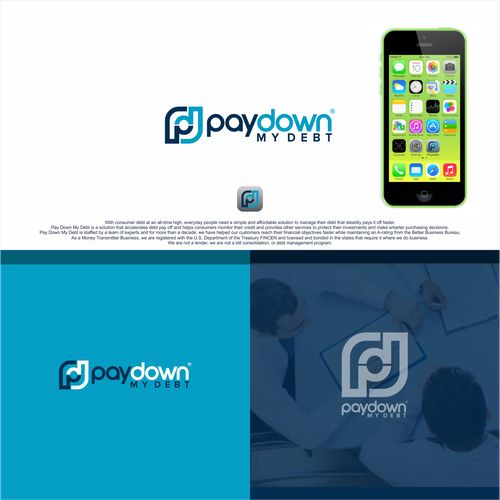 Pay Down My Debt �20Design a logo for personal finance website