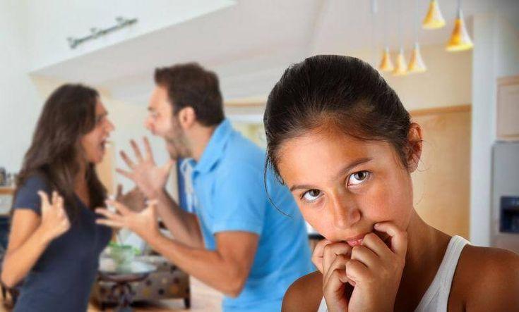 As crianças que vivem em lares nos quais acontecem situações de violência doméstica sofrem sequelas importantes, mesmo que o abuso seja verbal.