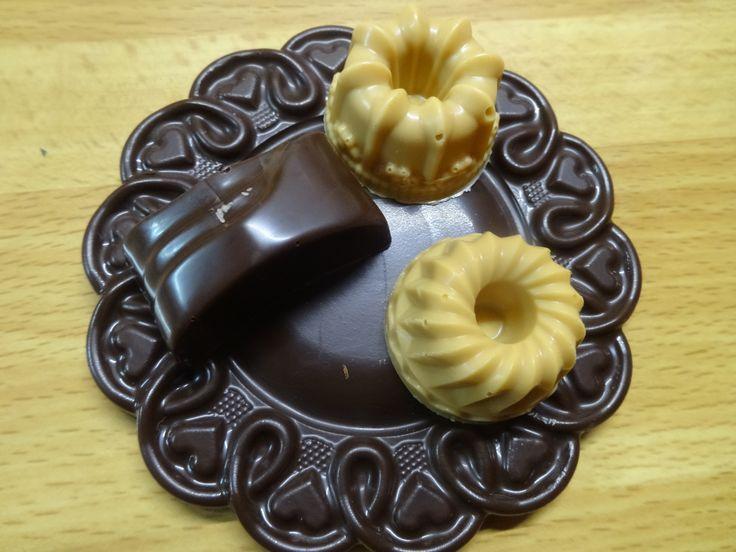 Шоколадные конфеты ручной работы с мягкой начинкой
