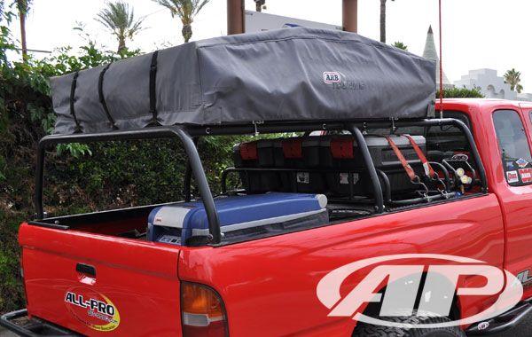 All Pro Offroad Tacoma Bed Rack Trucks Pinterest