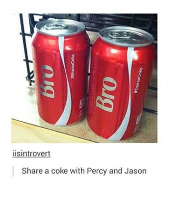 Percy and Jason's bromance is so great