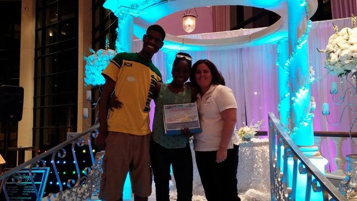Join me in Congratulating the lucky Bride and Groom .... Who won the 3 Day/ 2 Night Norwegian Cruise!!! South Florida Perfect Wedding Guide Bridal Show @ The Broward Performing Arts.