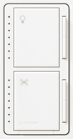 39 best lutron lighting controls images on pinterest light lutron maestro controls compatible with most any ceiling fan and light this dual mozeypictures Images