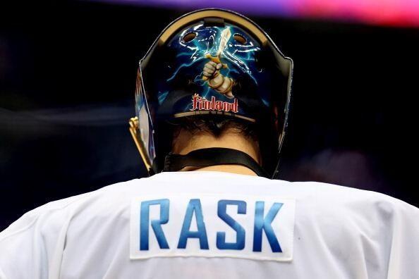 Tuukka Rask for Team Finland #Sochi