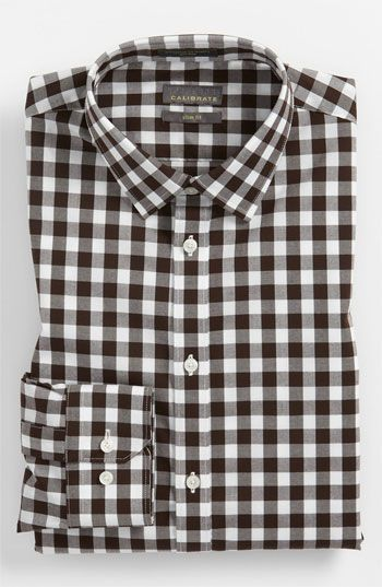 Calibrate Slim Fit Non Iron Dress Shirt available at #Nordstrom