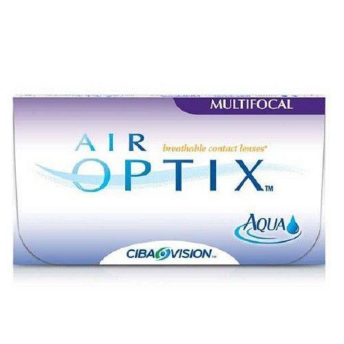 Air Optix AQUA Multifocal Contact Lenses 3 Packs (USD 60.95)