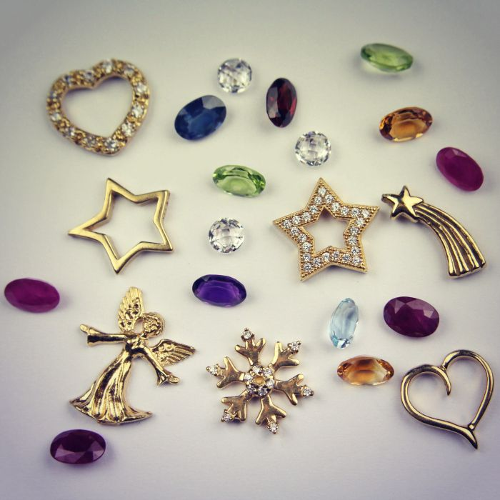 Personal charms and birthstones