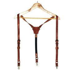 Bretelles en cuir personnalisé, bretelles en cuir avec monogramme, bretelles homme, bretelles hommes, marié à bretelles, jarretelles de mariage
