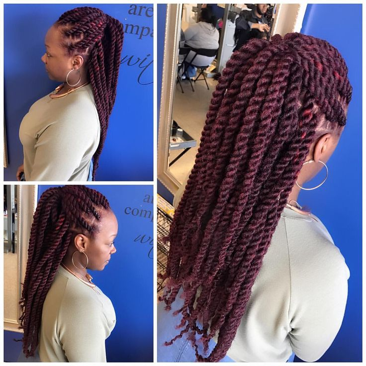 "46 Likes, 1 Comments - BraidsByAutumn (@mzpritea) on Instagram: ""Long Marley Twist Text (314)-306-4160 to schedule.  Please do so in advance! Thank You.…"""
