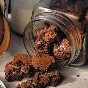 We've added cocoa powder to these crinkle-top sugar-and-spice cookies.