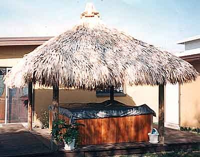 49 best Tiki Huts images on Pinterest Tiki bars Backyard ideas
