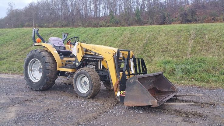 2005 Challenger Mt265b Compact Farm Tractor 4x4 Diesel Loader Forks Bucket 33 Hp