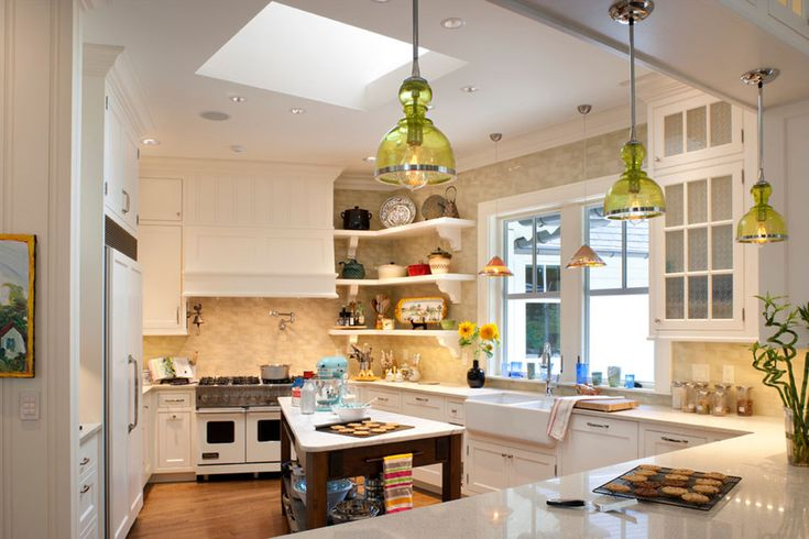 Open Kitchen Cabinets Are Easier To Handle14