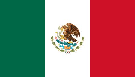 Free Mexico flag graphics, vectors, and printable PDF files. Get the free downloads at http://flaglane.com/download/mexican-flag/