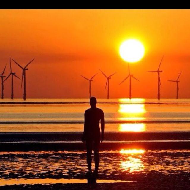 Stunning Sunset - River Mersey, Liverpool