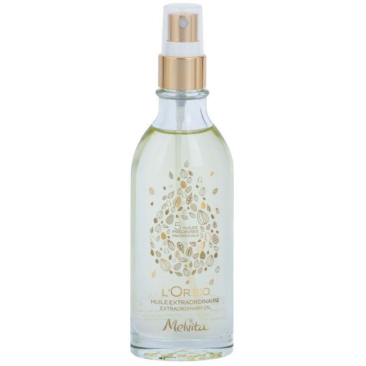 Melvita L'Or Bio jemný suchý olej na tvár, telo a vlasy  100 ml