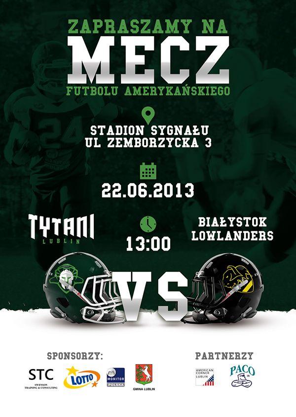 Tytani Lublin - American Football Team ID on Behance