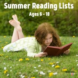 Keep your child engaged in their education over the summer with these book lists!