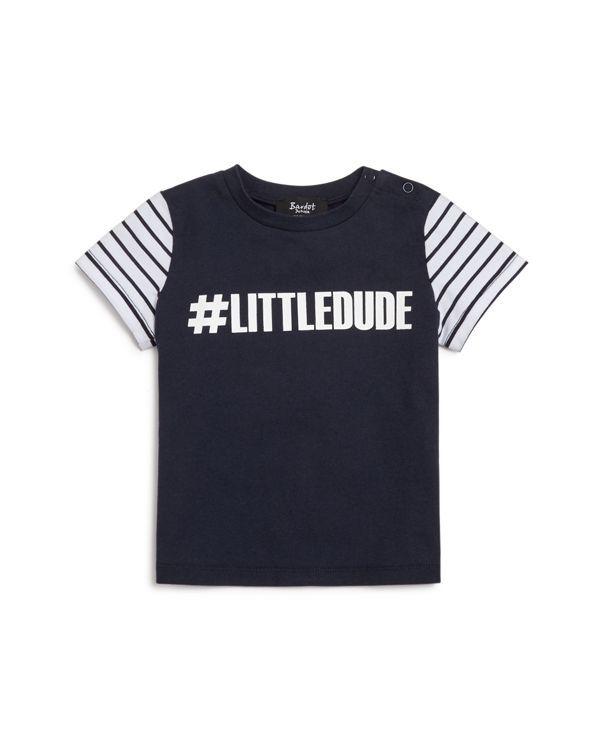 Bardot Junior Infant Boys' Little Dude Tee - Sizes 12-24 Months