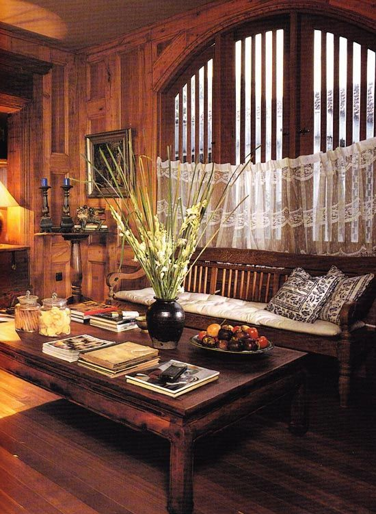 Beautiful javanese style decor