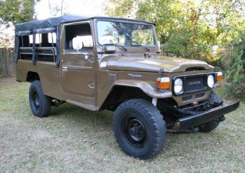 FJ 45, soft top - for L. I wish I could buy this for him.