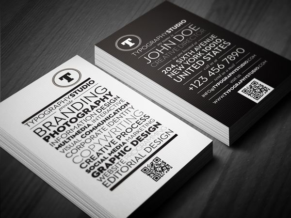 25 best awesome business card designs images on pinterest awesome typography studio business card design by lemongraphic via behance reheart Gallery