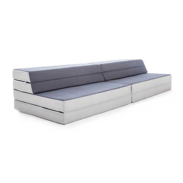 LUCID Convertible Folding Foam Sofa-Bed