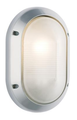 Ginalla Outdoor Wall Light in Silver Effect, 0000004043188