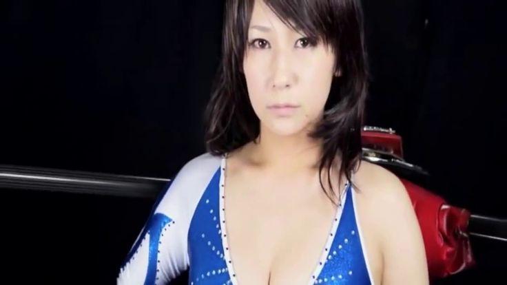 女子プロレス ハイレグではげしい技の掛け合いで喘ぎまくる美女たち Women's Wrestling