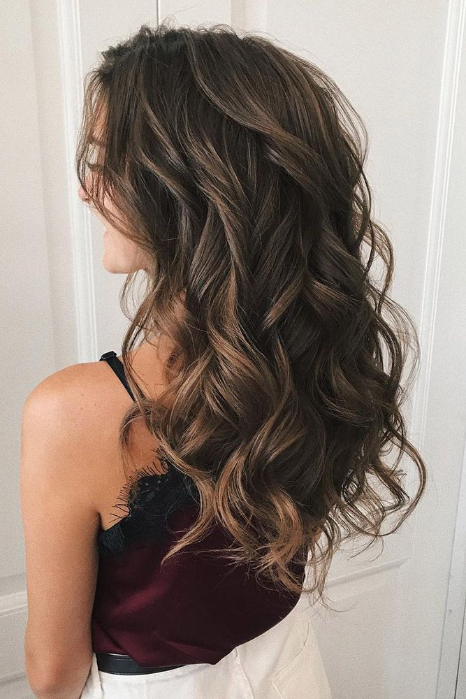33 Stylish Wedding Hairstyles With Hair Down Wedding Forward Curls For Long Hair Curled Hairstyles For Medium Hair Loose Curls Hairstyles