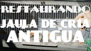 Restaurando jaula de cría antigua - YouTube