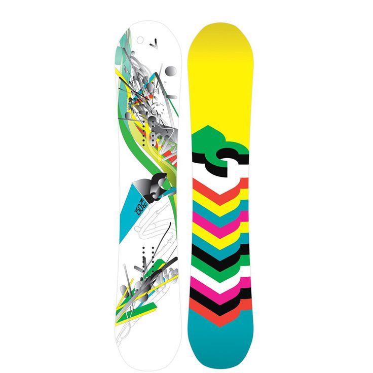 New 2014 DC Ply Board Women Snowboard