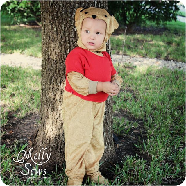 Winnie the Pooh Costume - Melly Sews